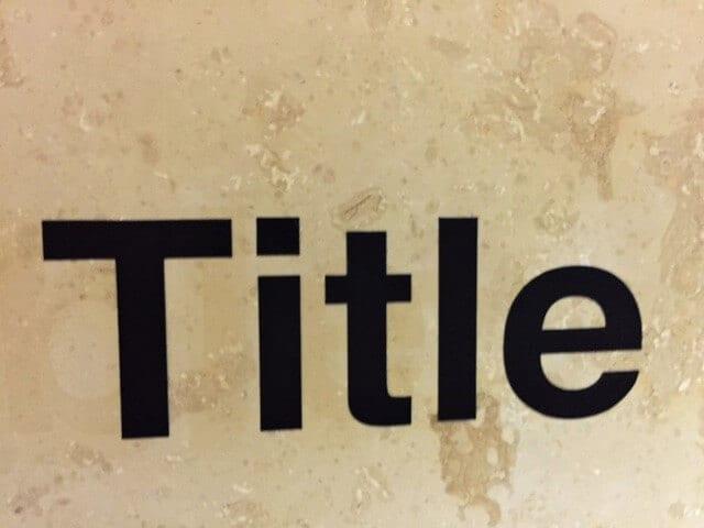 10 Common Title Problems